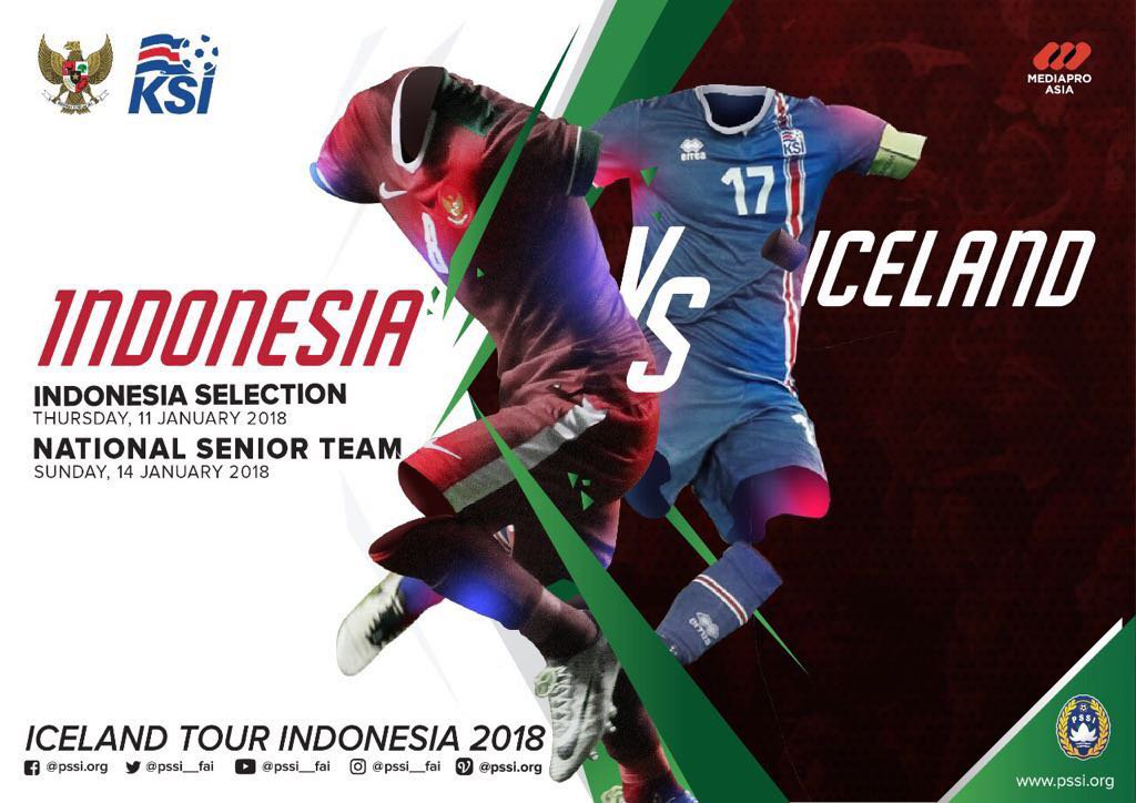 Indonesia Selection vs Islandia
